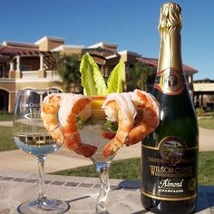 Wilson Creek Winery Almond Champagne from Temecula CA