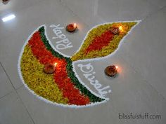 Looking for the latest diwali rangoli designs? Discover Simple & Easy Rangoli Designs Diya Rangoli, Peacock & Happy Diwali Rangoli Designs are available. Happy Diwali Rangoli, Easy Rangoli Designs Diwali, Diya Rangoli, Rangoli Designs Flower, Small Rangoli Design, Rangoli Patterns, Diwali Diya, Rangoli Designs Images, Rangoli Ideas