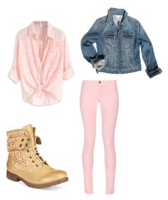 """""""country side"""" by annemarie-schuyt on Polyvore featuring Maison Kitsuné, Boston Proper, ZiGiny and country"""