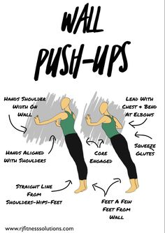 Wall exercise how to #diy #fitnesstips