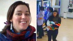 Charlotte Bevan had walked out of a maternity hospital with her four-day-old baby wrapped only in blankets. Sky News, Maternity, Daughter, Lady, Bristol, Blankets, Police, Charlotte, Death
