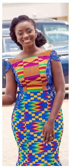 Best Kente Traditional Attire To Change Your Style African American Fashion, Latest African Fashion Dresses, African Dresses For Women, African Print Fashion, African Attire, African Wear, African Women, African Prints, Kente Dress