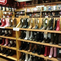 Cowboy Boots at Wall Drug Store, Wall, SD, Photo by heidijotheartist Wall Drug, Drug Store, South Dakota, Cowgirl Boots, Wyoming, Travel Usa, The Great Outdoors, Sd, Places Ive Been