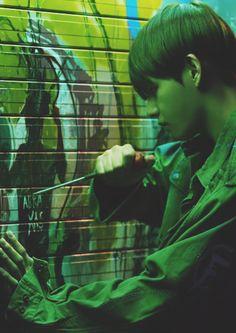 BTS~ V~ Stigma~ Wings~ Jimin, Bts Bangtan Boy, Bts Hyyh, Bts Beautiful, Beautiful Moments, Bts V Stigma, Hoseok, Namjoon, Bts Wings