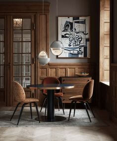 These inspirational pictures from Danish furniture brand Gubi look very inviting and sophisticated. Boho Chic Living Room, Decor Home Living Room, Small Living Rooms, Living Room Modern, Home Decor, H & M Home, Danish Furniture, Dining Room Inspiration, Living Room Pictures