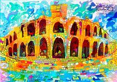 Arles, Roman and Romanesque Monuments_ France_FR_ West, South Europe_ Cultural_ (ii)(iv)_ N43 40 39/5 E4 37 50/5_ 1981_ Property:65ha_ Ref:164フランス共和国アルルのローマ遺跡と ロマネスク建築0330