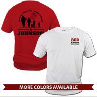 T-Shirt Red Friday with Name #redfriday #customtee #usmc #marines #ega #egashop #marineparents