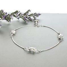 Shop unique handmade goods from OneYellowButterflyy. Silver Toe Rings, Silver Anklets, Sterling Silver Chains, Turtles, Artisan, My Etsy Shop, Beaded Bracelets, Gifts, Handmade