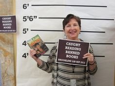 banned books display jail cell - Google Search
