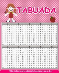 1000 Images About Contas Tabuada Divis 227 O On Pinterest