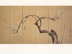RInpa Japanese Painting, Chinese Painting, Chinese Art, Japanese Screen, Chinese Patterns, Art Asiatique, Bonsai Art, Japan Art, Chinoiserie