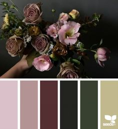 today's inspiration image for { flora tones } is by . thank you, Deanna, for another gorgeous image share! Bedroom Color Schemes, Colour Schemes, Color Combos, Bedroom Colors, Color Concept, Colour Pallette, Color Balance, Design Seeds, Colour Board