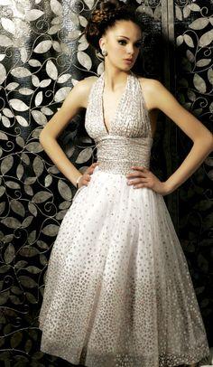 Starry dress.