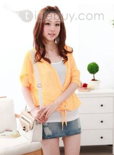 Fashion Korean Style Long Sleeve Candy Color Cardigans : Tidebuy.com