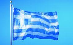 Flag of Greece wallpaper