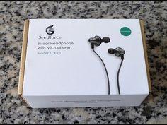 Seedforce LCE-01, Auriculares Alta Fidelidad con Micrófono