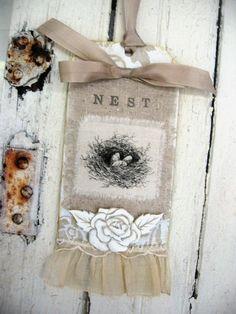 """""""Nest"""" door and wall hanger"""