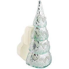 Scent from the North Pole. Pair this Christmas tree with your favorite Pier 1 electric diffuser bulb (available separately) for a longlasting, flameless scent.