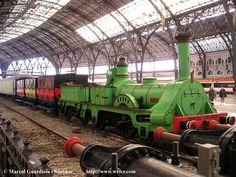 First train in spain,  Barcelona-Mataró