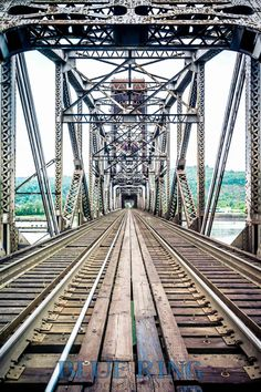 Over the Willamette Portland Railroad Bridge Photo by kensimms, $25.00