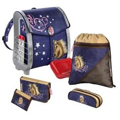 Step by Step Pure Touch Schulranzenset RODEO HORSE