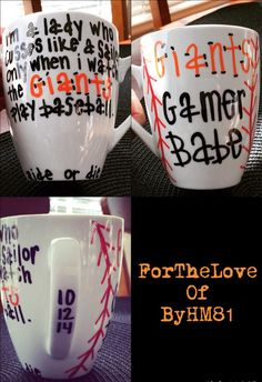 San Francisco Giants Porcelain Mug by ForTheLoveOfByHM81 on Etsy