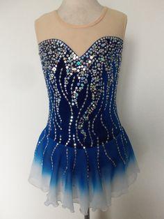 Custom Made to Fit Ice Skating Baton Twirling Dress | eBay