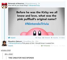 The creator has spoken!
