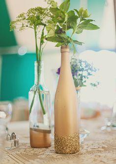 Um casamento DIY e colorido