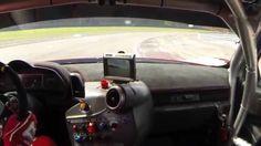 Dijon-Prenois Onboard Ferrari 458 GT3, 12.08.2014 vs Giusep Fry's 458 Ch...