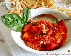 Sugo con pomodorini cipolla e basilico Blog Profumi Sapori & Fantasia