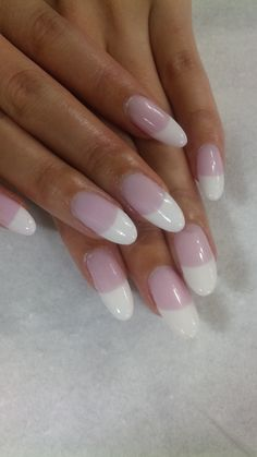 french oval pointy nails