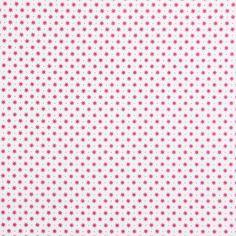 Cottage Stars 4 - pink - Nähanleitung für eine Wimpelkette - Nähanleitung für einen Adventsbaum - Weihnachtszeit - Stoffe - Weihnachtsstoffe - ring a roses Katalog - Kinderstoffe Mädchen - Baumwollstoffe Sterne - French Cottage - stoffe.de