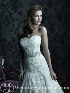 Order an Allure Couture C228 Bridal Gown at The Wedding Shoppe today