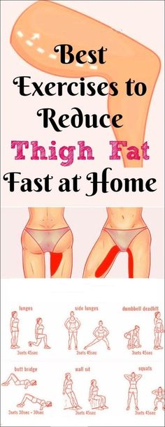 Best 7 Exercises to Lose Upper Thigh Fat Fast in 7 Days