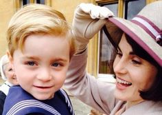 Downton Abbey season 5: little George and his mama Lady Mary
