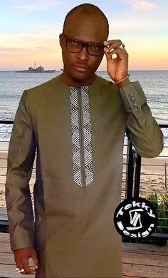 African Shirts For Men, African Dresses Men, African Attire For Men, African Clothing For Men, African Wear, Nigerian Men Fashion, African Men Fashion, African Women, Costume Africain