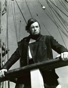 Gregory Peck as Ahab in John Huston's Moby Dick (1956).