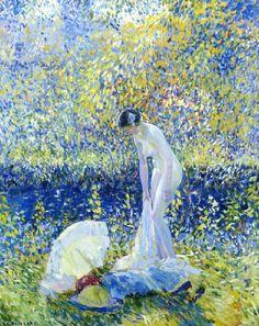 Frederick Carl Frieseke - Cherry Blossoms