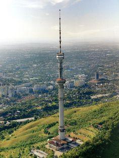 Almaty Radio and TV Tower. Almatý 124
