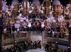 Another picture of the glamorous parties at Gatsby.