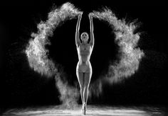 Dance flour by David Steinbrecher Dance Photography Poses, Dance Poses, Artistic Photography, Creative Photography, White Photography, Portrait Photography, Foto Art, Dance Pictures, Dance Art