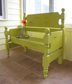 Painted Therapy: In Love Bench