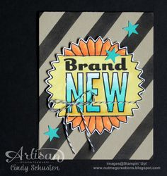 Love the combination of MDS and Stampin' Blendabilities!