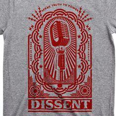 Dissent Men's Short Sleeve Graphic Tee