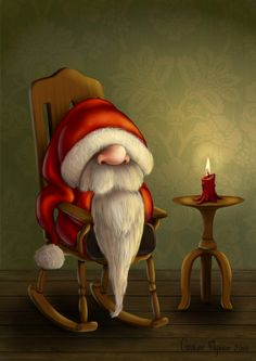 30 Creative Santa Claus Illustrations ~ Wonarts