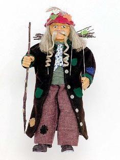 Old man, marionette