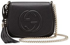 €925, Sac à main noir Gucci. De Neiman Marcus. Cliquez ici pour plus d'informations: https://lookastic.com/women/shop_items/4244/redirect