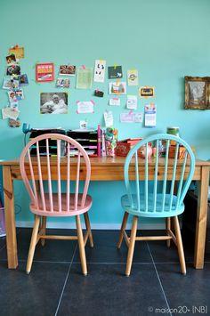 BINNENKIJKEN: Een kleurrijk gerenoveerde woning