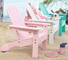 Kid-sized Adirondack Chairs. [40% right now.]
